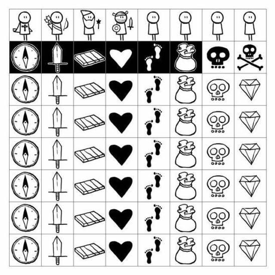 Pocket Dungeon Quest tiles