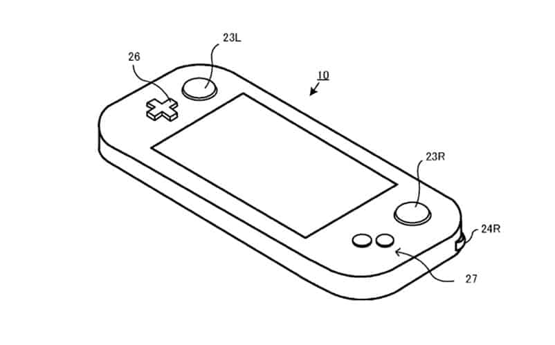 Possible Nintendo NX Controller Patent Shows Wii U-like