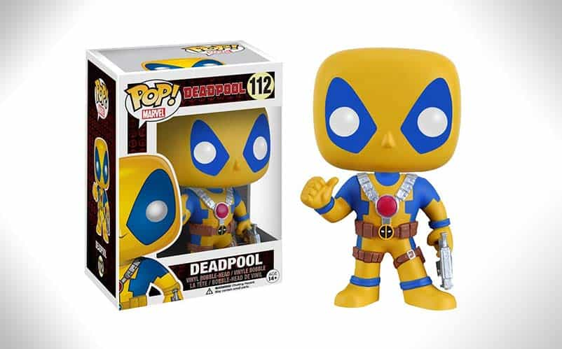 Funko Pop Deadpool Yellow And Blue 112