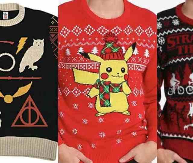 Nerdy Christmas Sweaters
