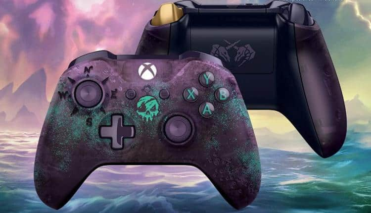 Sea Of Thieves Xbox One Controller Limited Edition Nerd