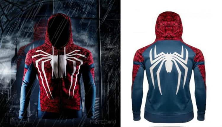 Spider Man PS4 Hoodie Is The Greatest Of All Time Nerd Much