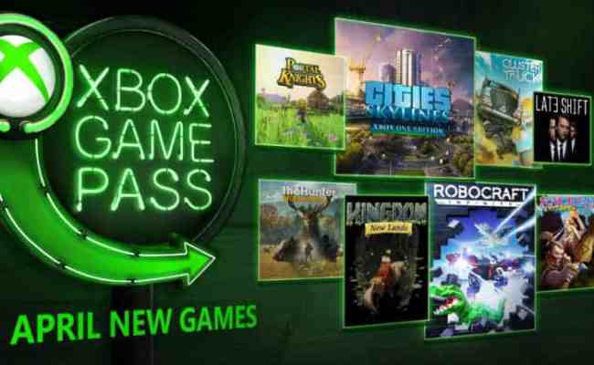 Xbox Game Pass April 2018 Additions Nerd Much