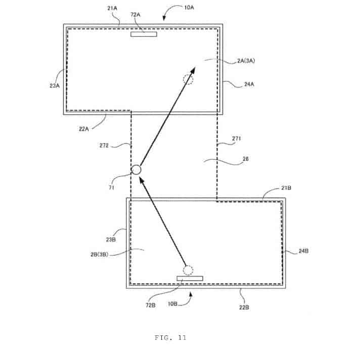 New Nintendo Patent Shows Multi Screen Communication