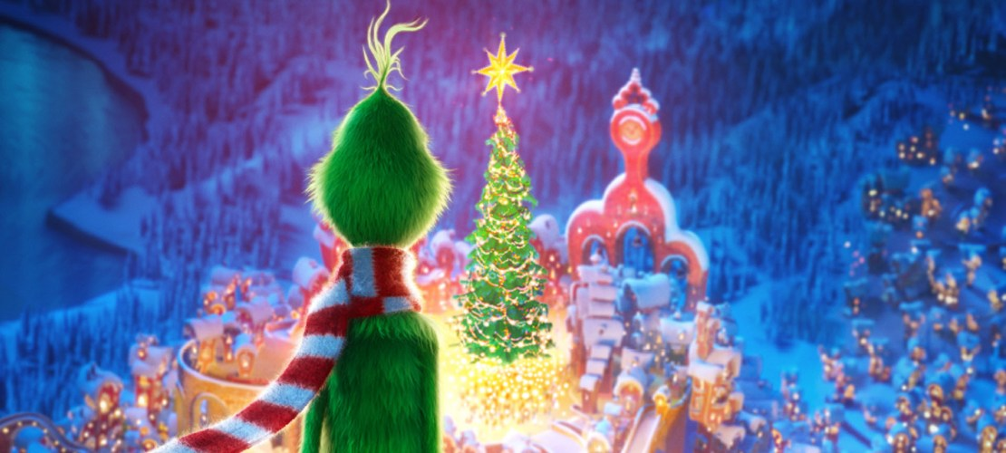 Movie still from the Grinch (2018).