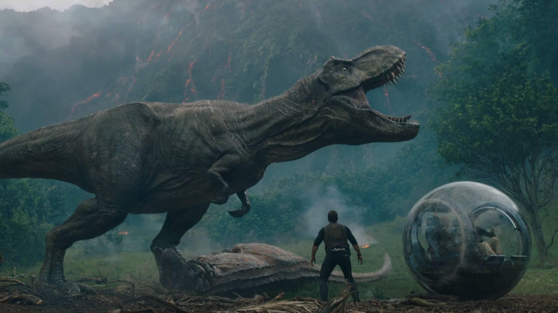 Movie still from Jurassic World: Fallen Kingdom
