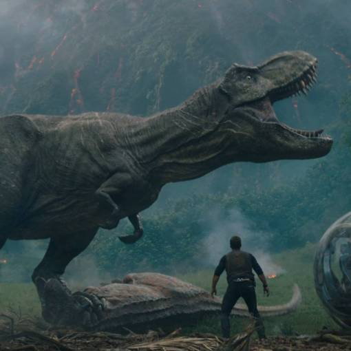 Movie still from Jurassic World: Fallen Kingdom