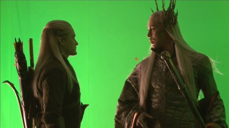 Orlando Bloom reprises his role as Legolas, this time along side his father, the Elvenking Thranduil.