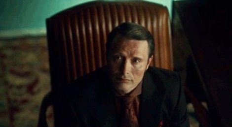 """Sometimes I think of Bryan Fuller and all I see his Hannibal's """"Hmmmm I wonder just how far I can push you right now..."""" face. :
