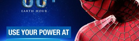Spider-Man Teams Up With Earth Hour for a Good Cause