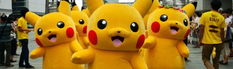 Pikachu Invades Yokohama for City-Wide Pokémon Event