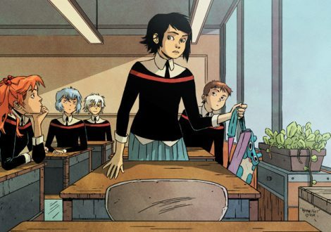 Also, look at her classmates. [Comics Alliance]