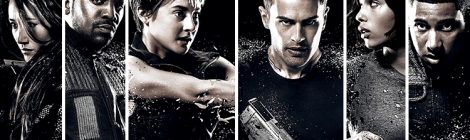 Insurgent's 3D, interactive posters are awesome