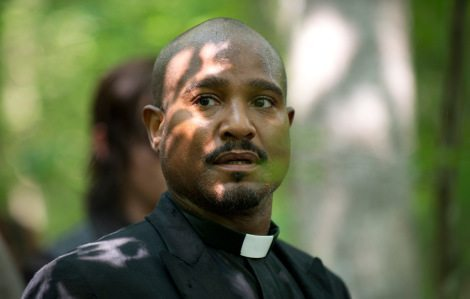 I'm all about Father Gabriel. He is a gentle soul, you stop being a dick, Rick. [AMC]