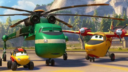 These planes and vehicles are actually similiar to the real life equipment real firefighters would use! [geekcrusade]