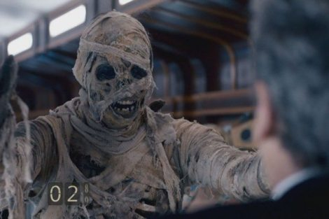 """Are you my mummy?"" How long do you think Doctor Who creators have been waiting to make that reference again?"