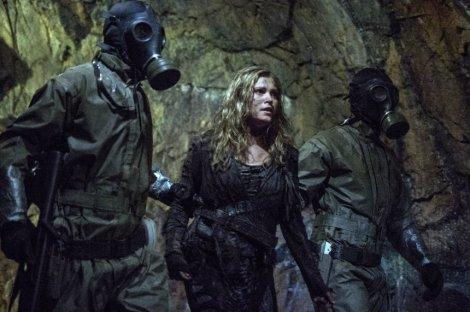 When all it takes is taking off your mask to take you down, it's kind of sad. [the100hd.com]