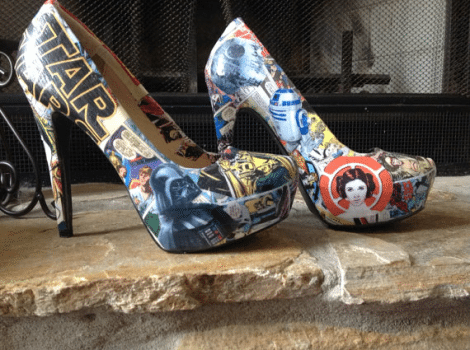 Star Wars Inspired Heels [Etsy]