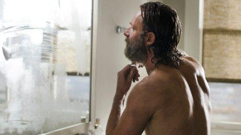 Goodbye crazy beard, you'll be missed. [AMC]