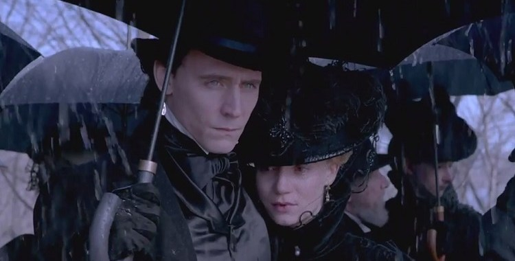 "Ghosts are real in the new ""Crimson Peak"" trailer"