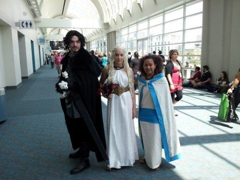 Respect cosplayers.