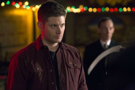 Dean summons Death in hopes of removing the Mark [Katie Yu/The CW]