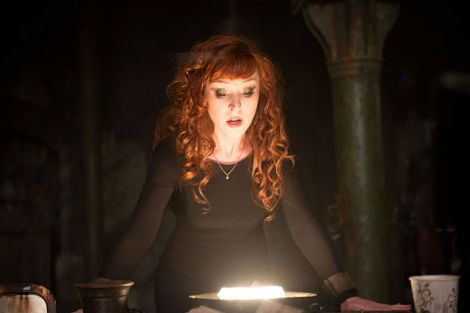 Crowley better watch his back - Rowena is one ticked off witch [Diyah Pera/The CW]
