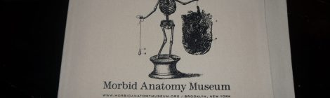 """Fannibals United at the Morbid Anatomy Museum in NYC for a """"Hannibal Lecter, Book Collector"""" lecture"""