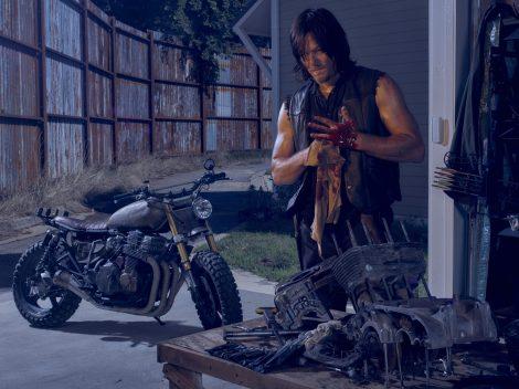 Norman Reedus as Daryl Dixon - The Walking Dead _ Season 6, Gallery - Photo Credit: Frank Ockenfels 3/AMC