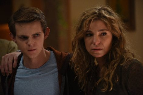 Nathan and Mother prepare for the flashbacks to end. [NBC]