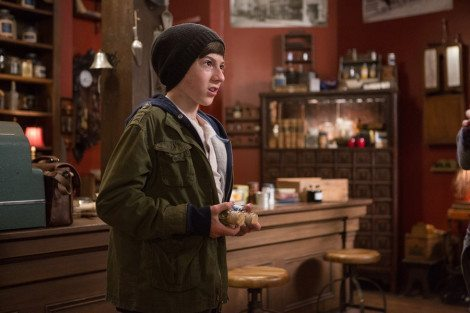 """GRIMM -- """"Lost Boys"""" Episode 503 -- Pictured: Mason Cook as Peter -- (Photo by: Scott Green/NBC)"""
