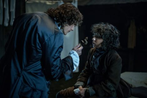 """How dare you steal my wooden snake? Also your name is Fergus now."" [STARZ]"