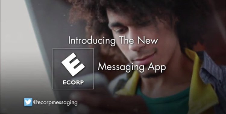Step into the world of Mr. Robot through the E-Corp Messaging App
