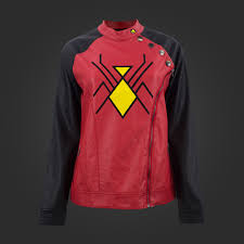Spider-Woman Sidezip Moto [Available from WeLoveFine]