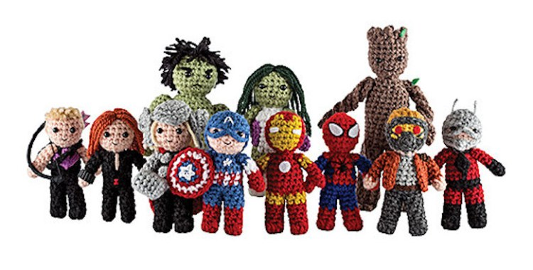 Marvel Universe Crochet is Perfect for Geeky Crafters & Beginner Crocheters!