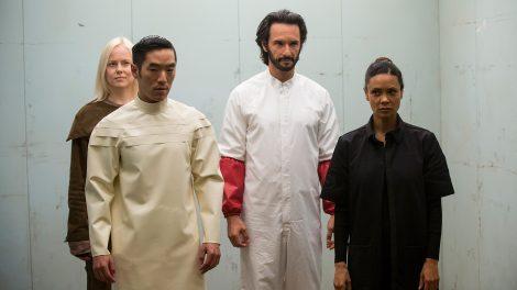 Maeve, Hector, Felix, and Armistice prepare to escape [Source: HBO]