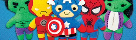 The 'Marvel Universe Felt' Kit Will Delight Crafty Marvel Fans