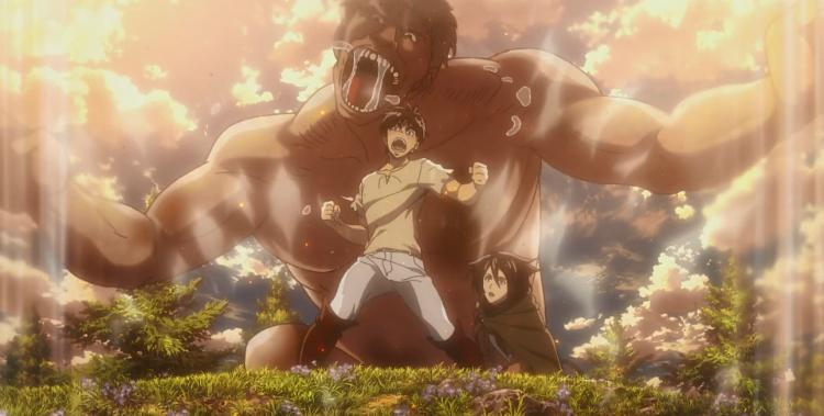 Attack on Titan Scream Recap Eren directs titan