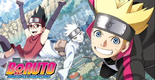 Summer Anime 2017 Boruto - Naruto Next Generations