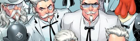 KFC Is No Chicken When It Comes To Comics