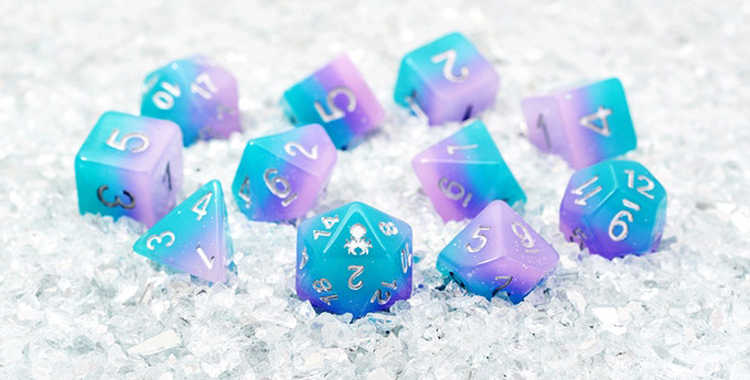 Kickstarter Watch: Dive into the Mythical World of Kraken Dice and Become the Talk of the Table