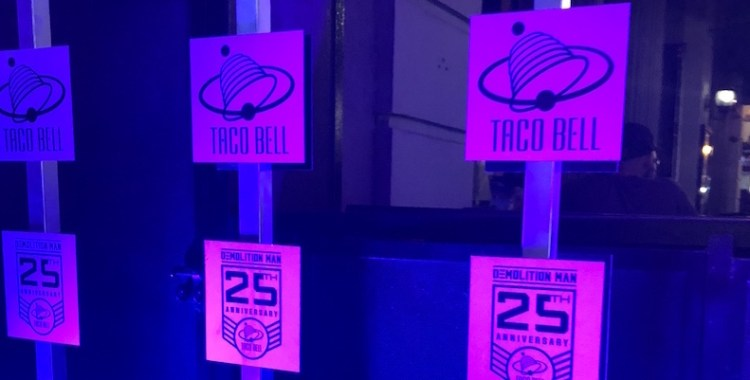 SDCC 2018: Taco Bell Brings the Demolition Man Fine Dining Experience to Comic Con!