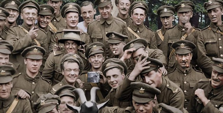 "Peter Jackson Takes a Closer Look with ""They Shall Not Grow Old"""