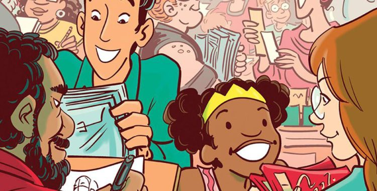 Dark Horse's Next Anthology, Pros and (Comic) Cons, Gives an Intimate Look at Con-Going - Check out this Excerpt by Diana Schutz!
