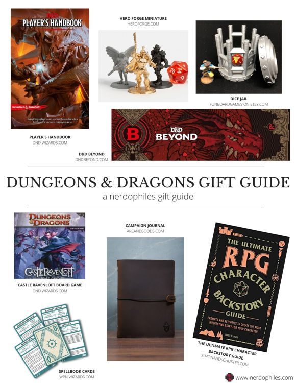 Dungeons & Dragons Gift Ideas