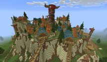 Le Monde De World Of Warcraft Recr Dans Minecraft - Nerdpix