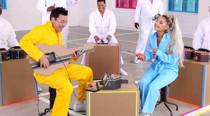 Nintendo Labo Ariana Grande Jimmy Fallon The Roots