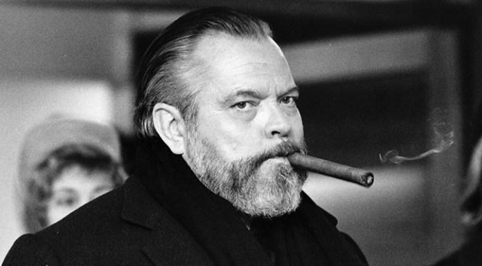 Orson Welles con sigaro