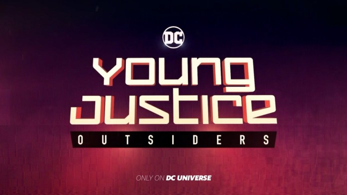 young justice: outsiders trailer dc universe