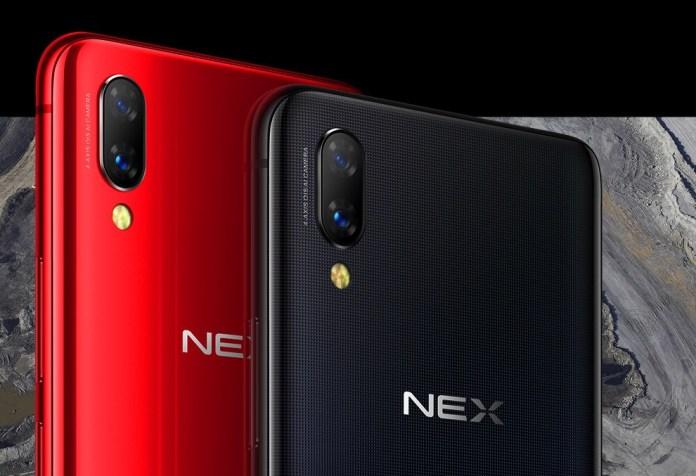 VIVO NEX red and black